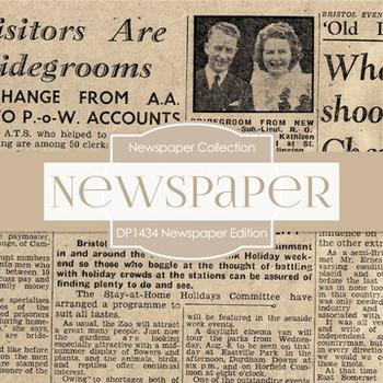 Digital Papers -  Newspaper Edition (DP1434)