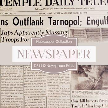 Digital Papers - Newspaper Prints (DP1442)