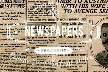Digital Papers - Newspapers Patterns Bundle Deal