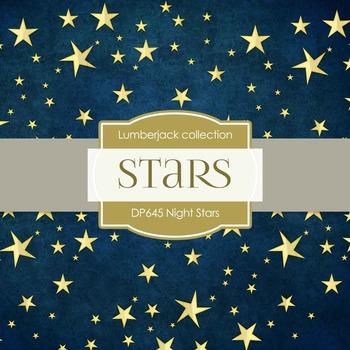 Digital Papers - Night Stars (DP645)