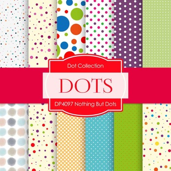 Digital Papers - Nothing But Dots (DP4097)