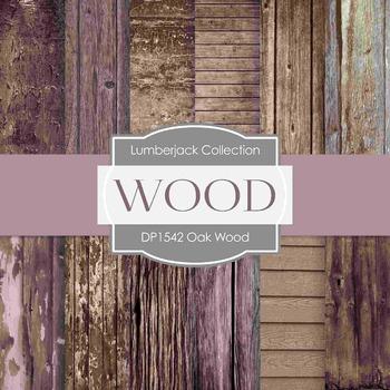 Digital Papers - Oak Wood (DP1542)