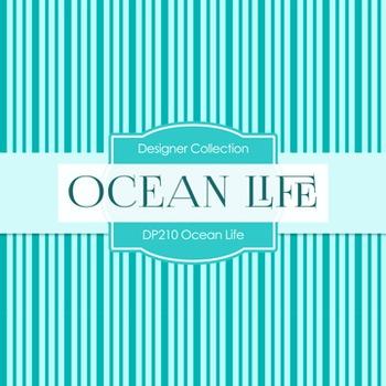 Digital Papers -  Ocean Life (DP210)