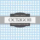 Digital Papers - Octagon Outline Big (DP6259)