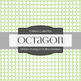 Digital Papers - Octagon Outline Medium (DP6261)