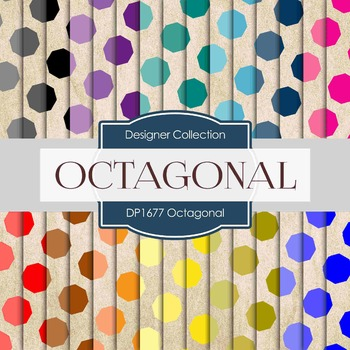 Digital Papers - Octagonal (DP1677)