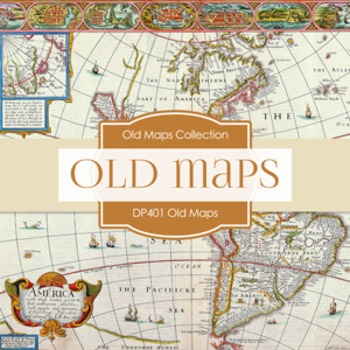 Digital Papers - Old Maps (DP401)