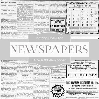 Digital Papers - Old News Papers (DP460)