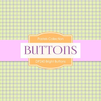 Digital Papers - Bright Buttons (DP240)
