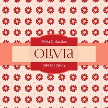Digital Papers - Olivia (DP1801)