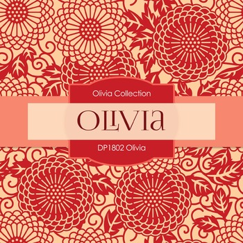 Digital Papers - Olivia (DP1802)