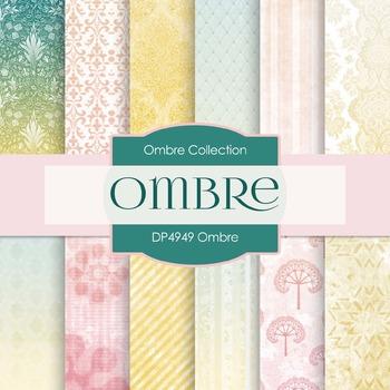 Digital Papers - Ombre (DP4949)