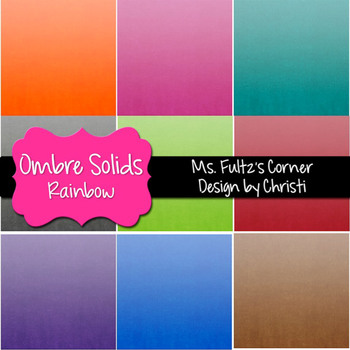 Digital Papers: Ombre Textures