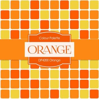 Digital Papers - Orange (DP4200)