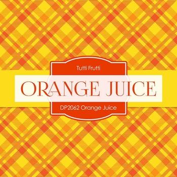 Digital Papers - Orange Juice (DP2062)