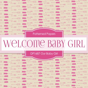 Digital Papers - Our Baby Girl (DP1687)