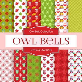 Digital Papers -  Owl Bells (DP4075)