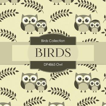 Digital Papers - Owl (DP4865)