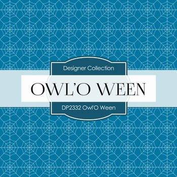 Digital Papers - Owl'O Ween (DP2332)