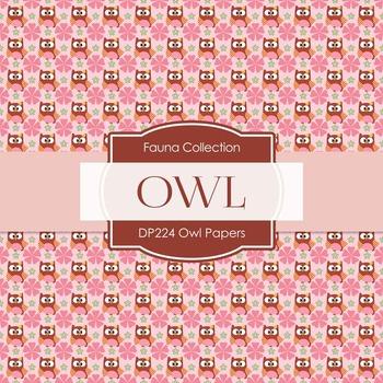 Digital Papers - Owl Papers (DP224)