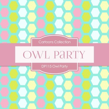Digital Papers - Owl Party (DP115)