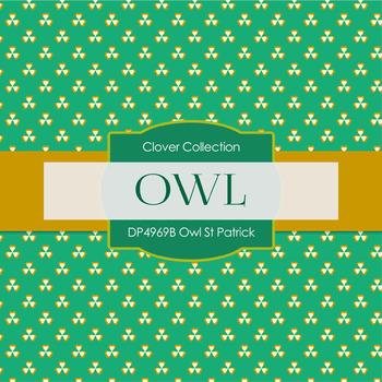 Digital Papers - Owl St Patrick (DP4969B)