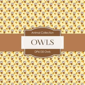 Digital Papers - Owls (DP6135)