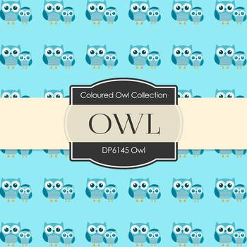 Digital Papers - Owls (DP6145)