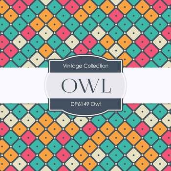 Digital Papers - Owls (DP6149)