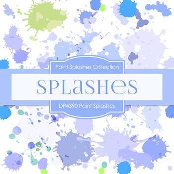 Digital Papers - Paint Splashes (DP4390)