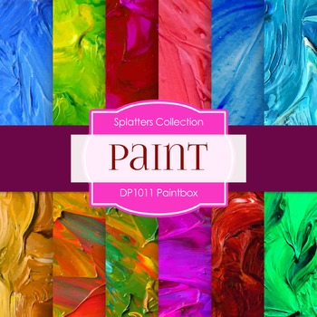 Digital Papers - Paintbox (DP1011)