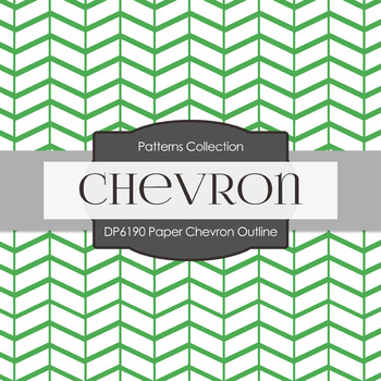 Digital Papers - Paper Chevron Outline (DP6190)