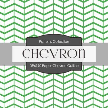 Digital Papers - Paper Chevron Outline (DP6190)