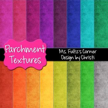 Digital Papers: Parchment Textures