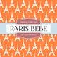 Digital Papers - Paris Bebe (DP1732)