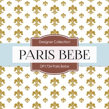 Digital Papers - Paris Bebe (DP1734)