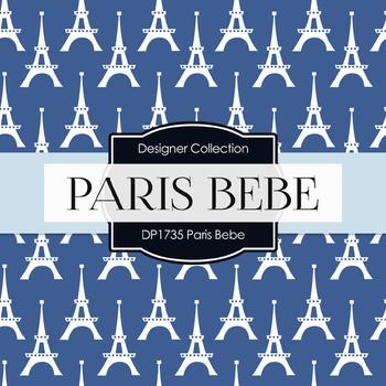 Digital Papers - Paris Bebe (DP1735)
