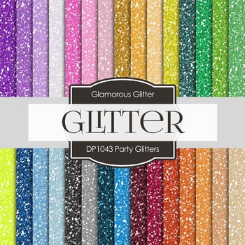Digital Papers - Party Glitter (DP1043)