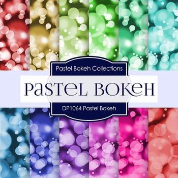 Digital Papers - Pastel Bokeh (DP1061)