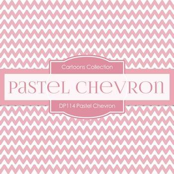 Digital Papers - Pastel Chevron (DP114)