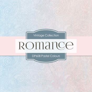 Digital Papers -  Pastel Colours (DP608)