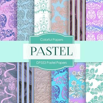 Digital Papers - Pastel Papers (DP553)