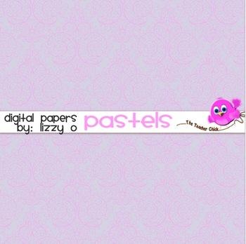 Digital Papers - Pastels