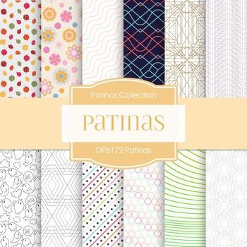 Digital Papers - Patinas (DP6172)