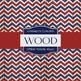 Digital Papers - Patriotic Wood (DP2041)