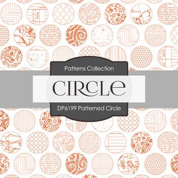 Digital Papers - Patterned Circle (DP6199)