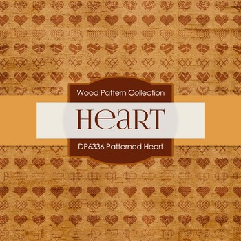 Digital Papers - Patterned Heart (DP6336)