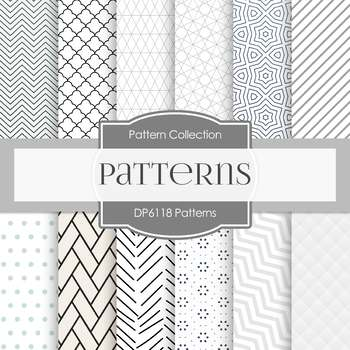 Digital Papers - Patterns (DP6118)