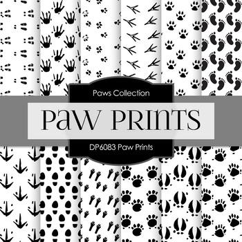 Digital Papers - Paw Prints (DP6083)