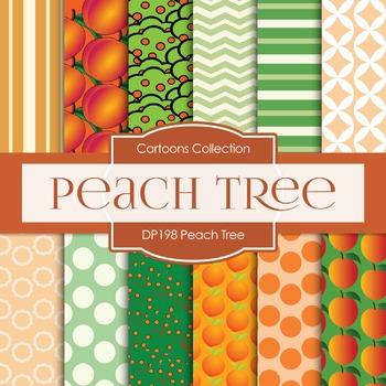 Digital Papers - Peach Tree (DP198)